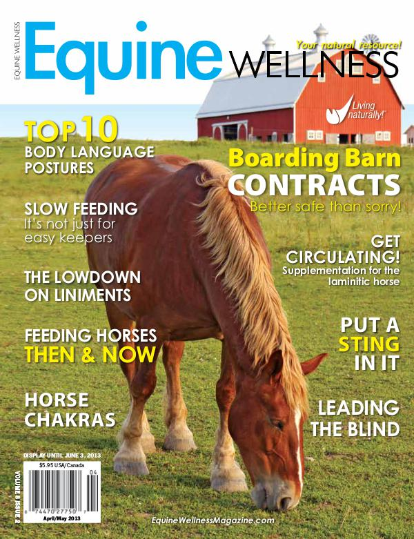 Equine Wellness Magazine Apr/May 2013