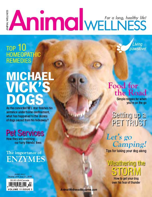 Animal Wellness Magazine Jun/July 2009