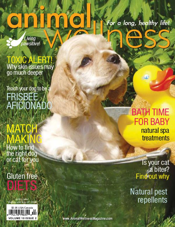 Animal Wellness Magazine Apr/May 2008