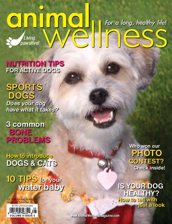Animal Wellness Magazine Oct/Nov 2007
