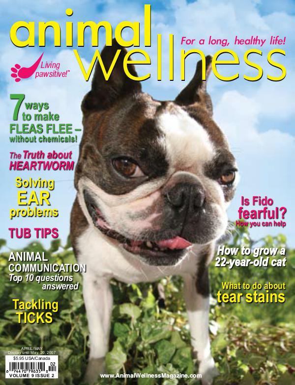 Animal Wellness Magazine Apr/May 2007