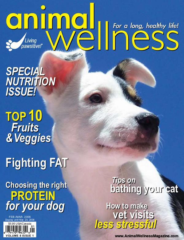 Animal Wellness Magazine Feb/Mar 2006
