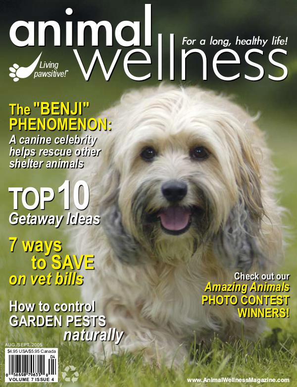 Animal Wellness Magazine Aug/Sep 2005