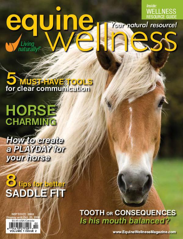 Equine Wellness Magazine Sep/Oct 2006