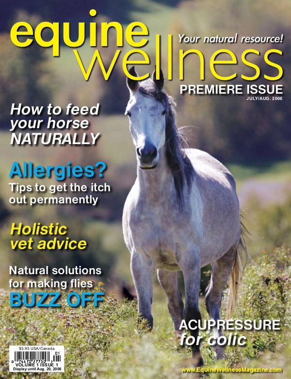 Equine Wellness Magazine Jul/Aug 2006