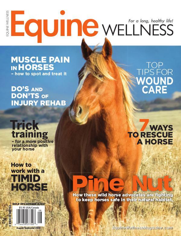 Equine Wellness Magazine Aug/Sep 2018