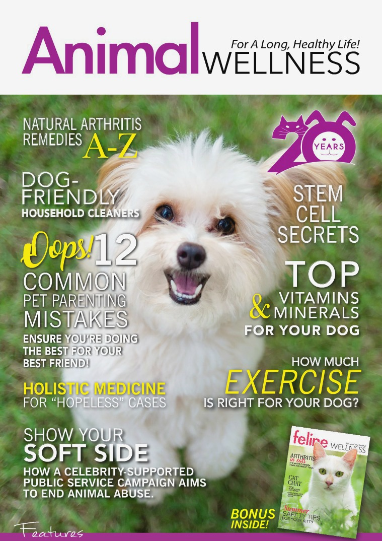Animal Wellness Magazine Aug/Sept 2018