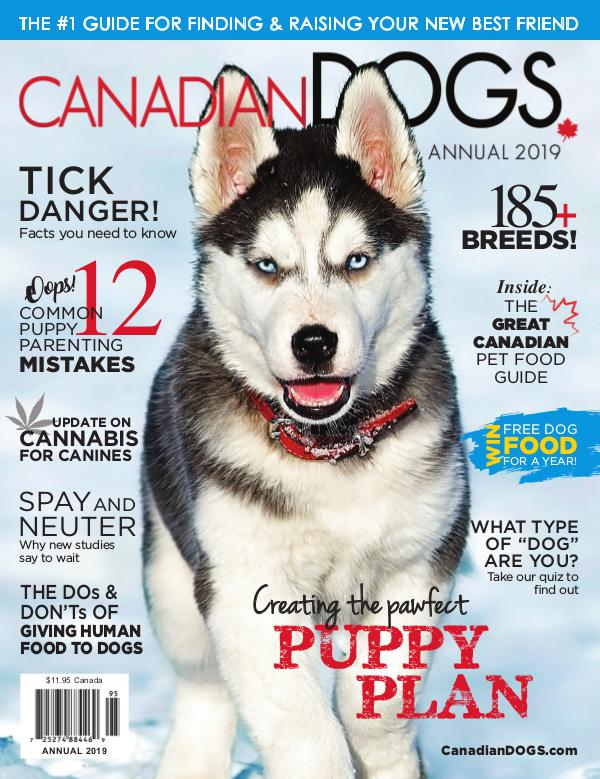 Canadian Dogs Annual 2019