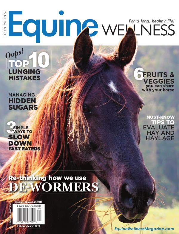 Equine Wellness Magazine Feb/Mar 2019