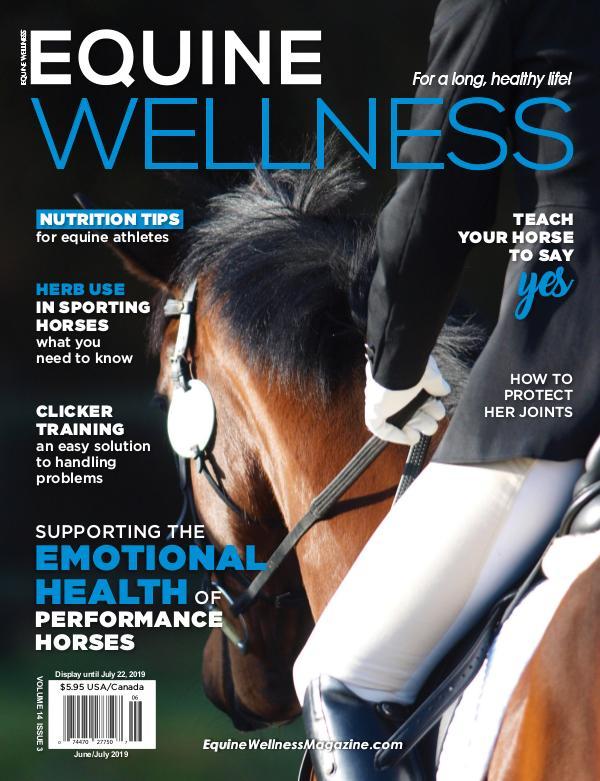 Equine Wellness Magazine Jun/Jul 2019