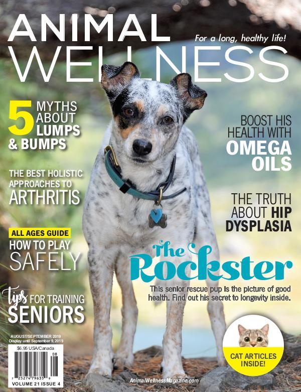 Animal Wellness Magazine Aug/Sep 2019