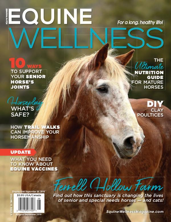 Equine Wellness Magazine Aug/Sep 2019