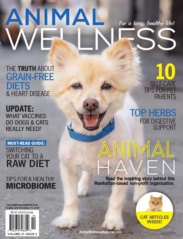 Animal Wellness Magazine Oct/Nov 2019