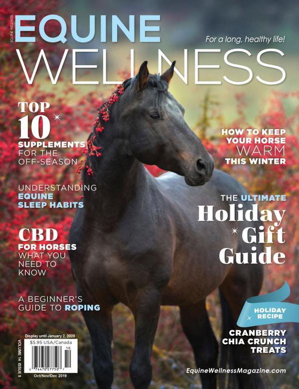 Equine Wellness Magazine Oct/Nov/Dec 2019