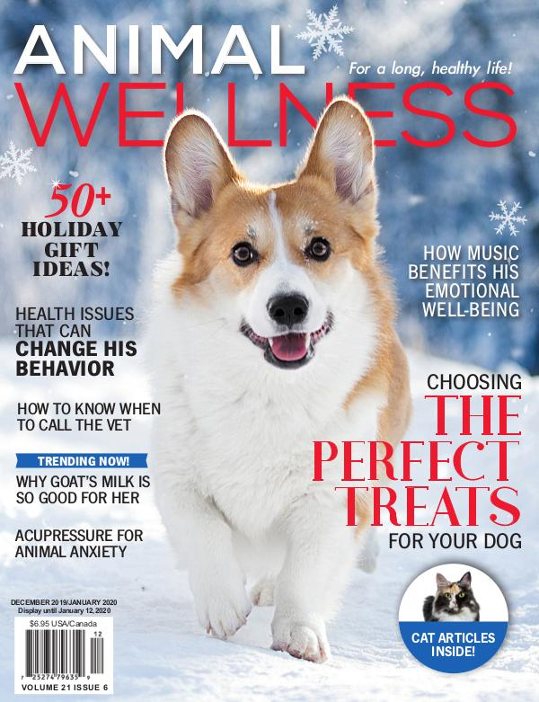 Animal Wellness Magazine Dec/Jan 2019-2020