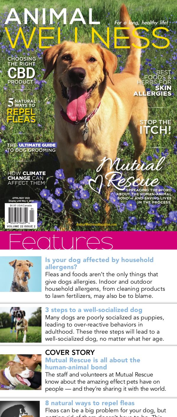 Animal Wellness Digital Magazine Apr/May 2020
