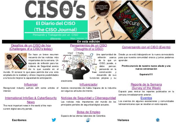 (The CISO Journal) Edición 16