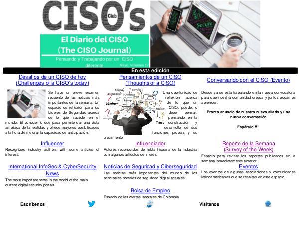 El Diario del CISO (The CISO Journal) Edición 17