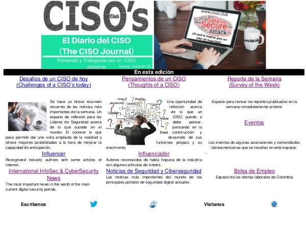 El Diario del CISO (THE CISO JOURNAL) EDICIÓN 23