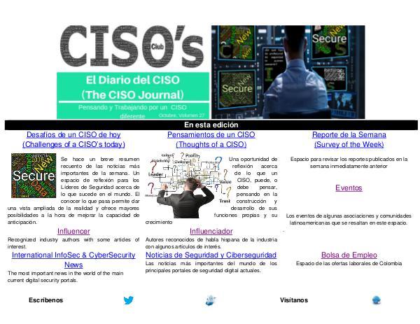 El Diario del CISO (The CISO Journal) Edición 27