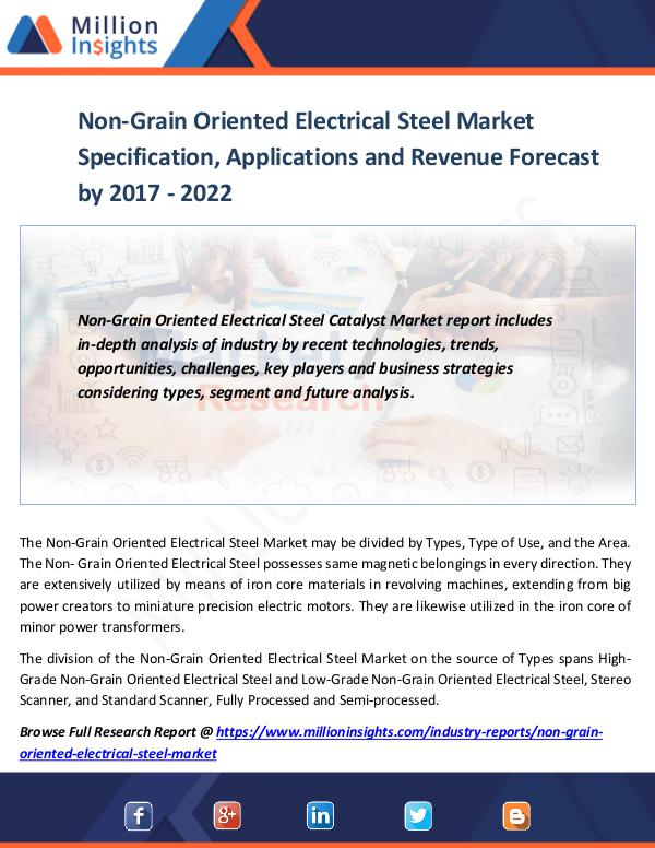 Non-Grain Oriented Electrical Steel Market