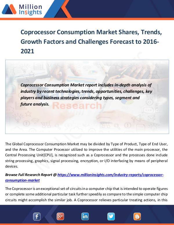 Coprocessor Consumption Market