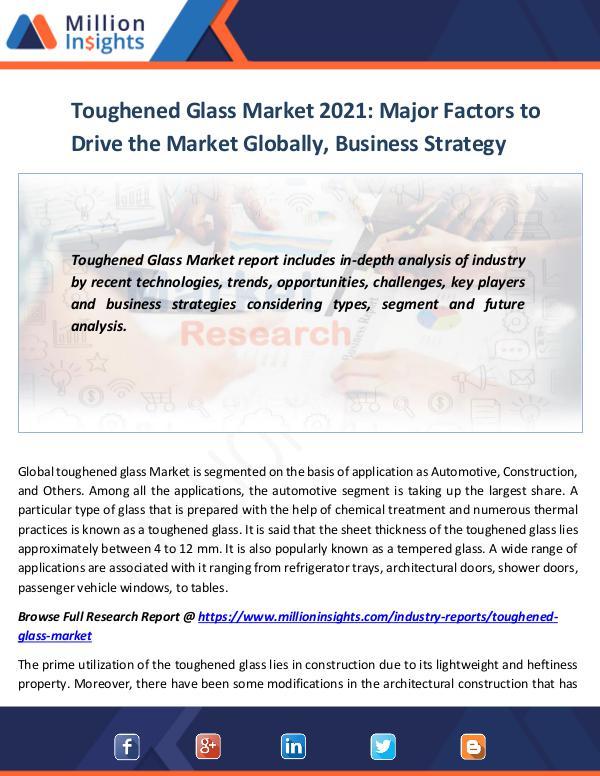 Toughened Glass Market