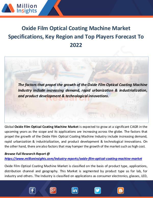 Oxide Film Optical Coating Machine Market