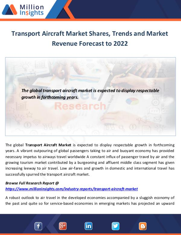 Transport Aircraft Market Shares