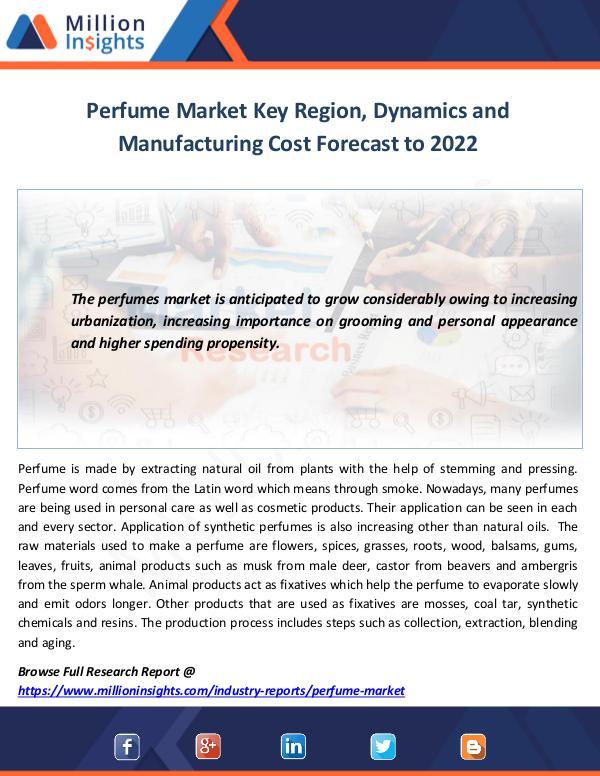 Perfume Market Key Region