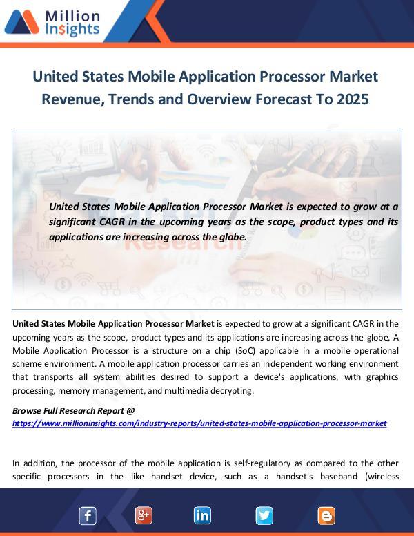 Market World United States Mobile Application Processor Market