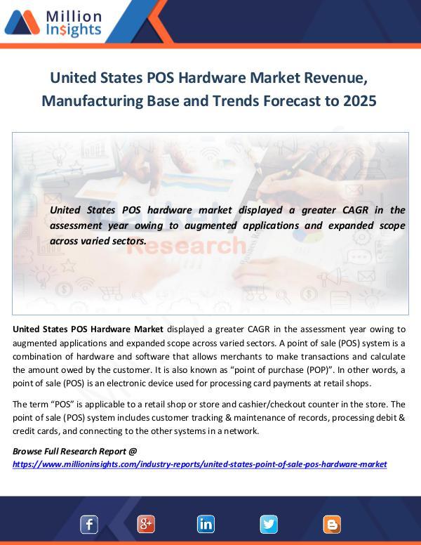Market World United States POS Hardware Market