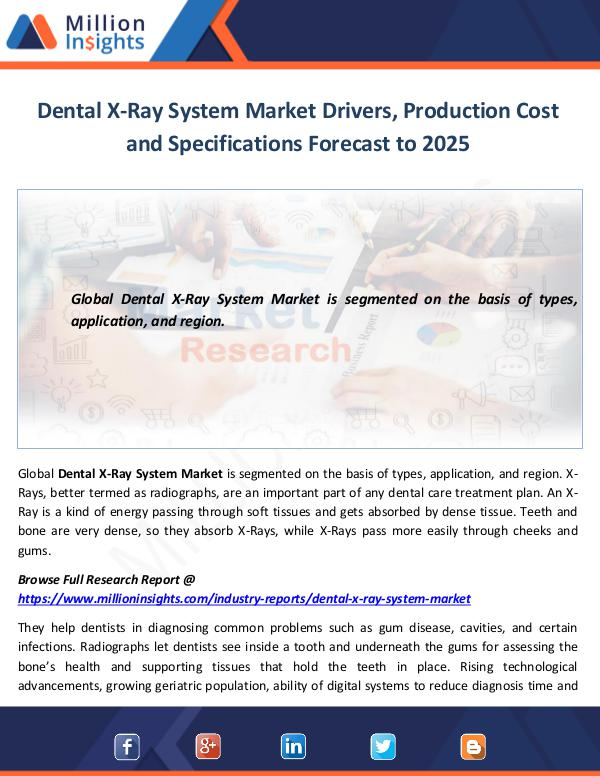 Dental X-Ray System Market Drivers