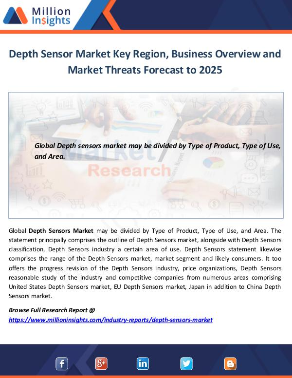 Depth Sensor Market