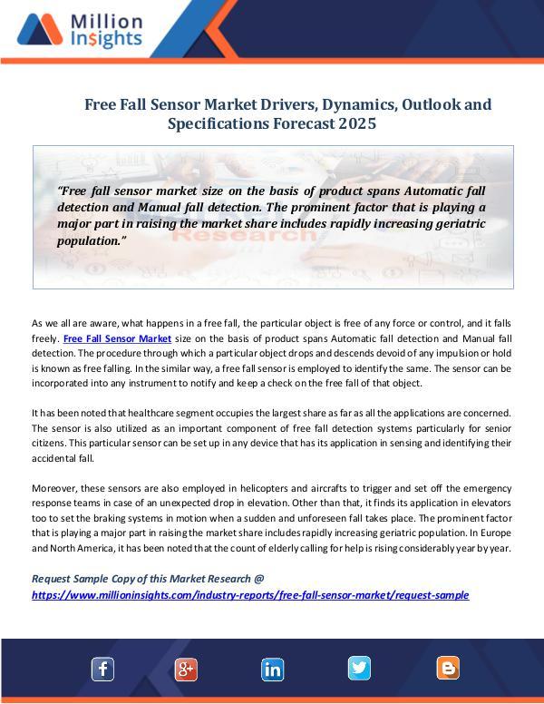 Free Fall Sensor Market