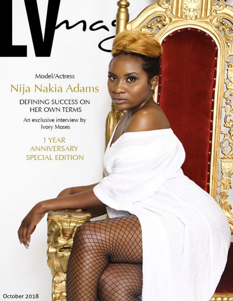 LV Magazine October 2018 - Nija Adams