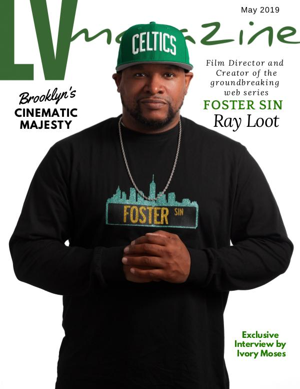 LV Magazine May 2019 Film Director Ray Loot