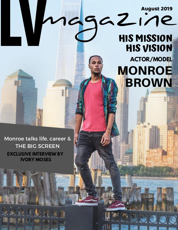 August 2019 Monroe Brown (Cover #1)