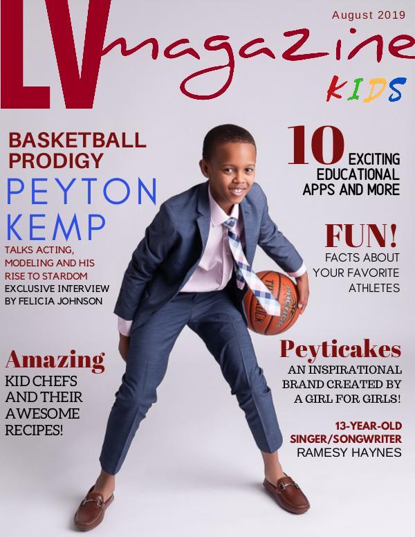 August 2019 Peyton Kemp (Cover #2)
