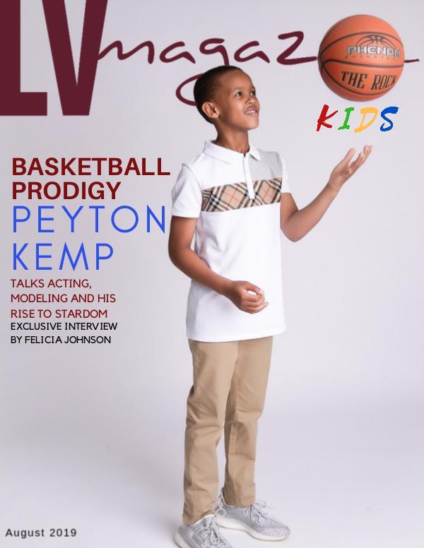 August 2019 Peyton Kemp (Cover #1)