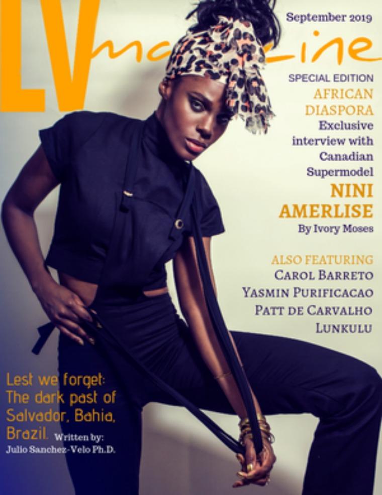 LV Magazine September 2019  Nini Amerlise