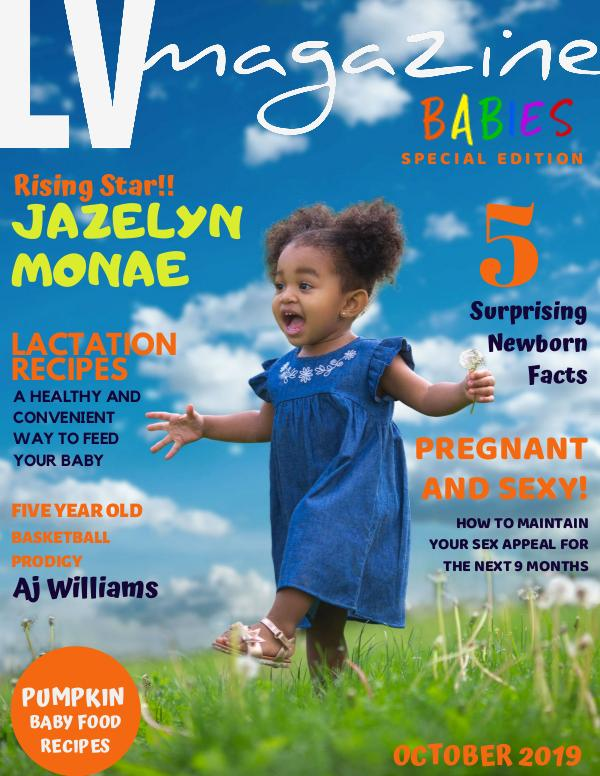 LV Magazine Kids October 2019 Babies Special Edition