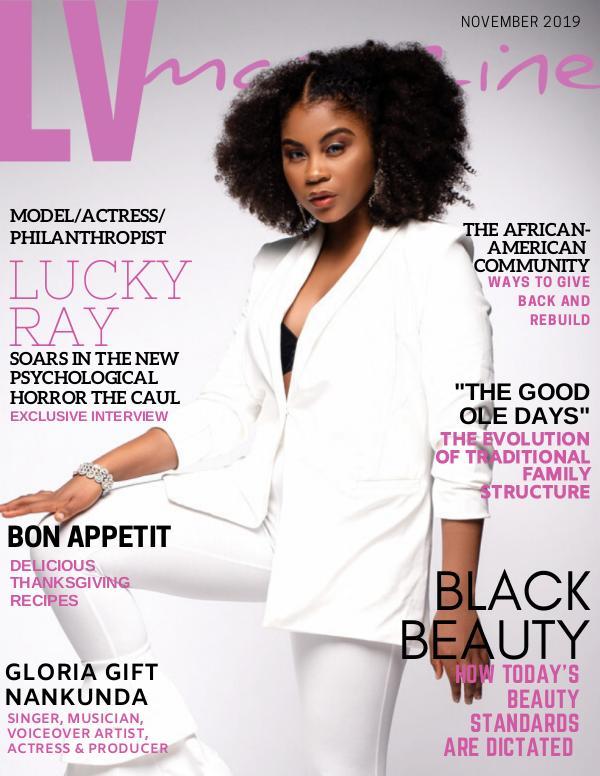 LV Magazine November 2019 Lucky Ray