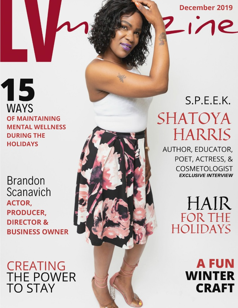 LV Magazine December 2019 Cover Shatoya Harris