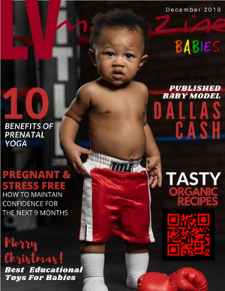 LV Magazine Kids Babies December 2019  Cover Dallas Cash