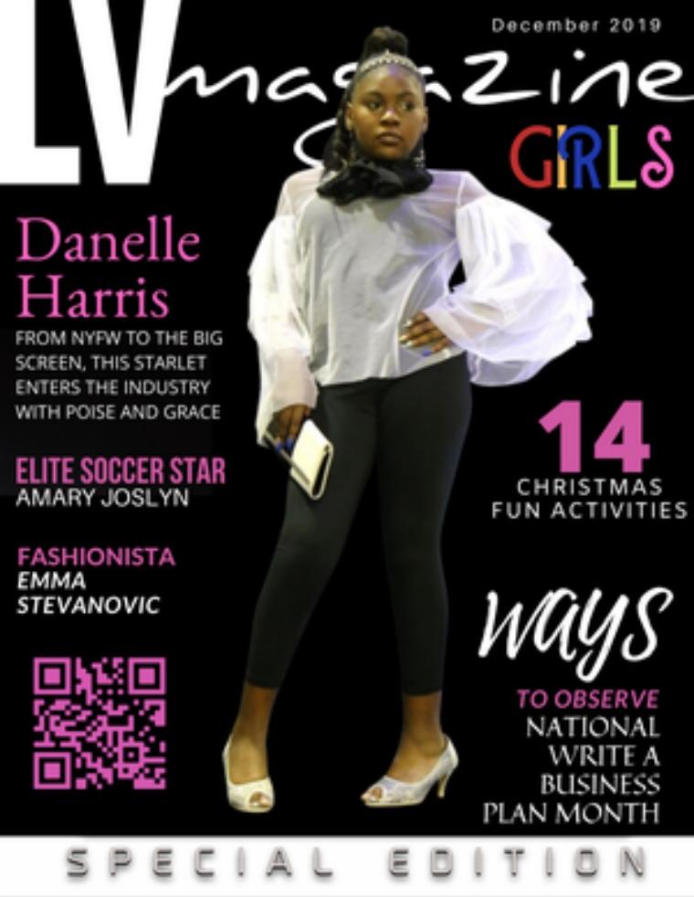 LV Magazine Kids December 2019 Danielle Harris