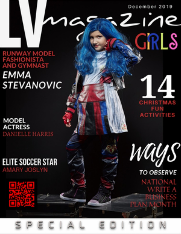 LV Magazine Kids December 2019 Emma Stevanovic