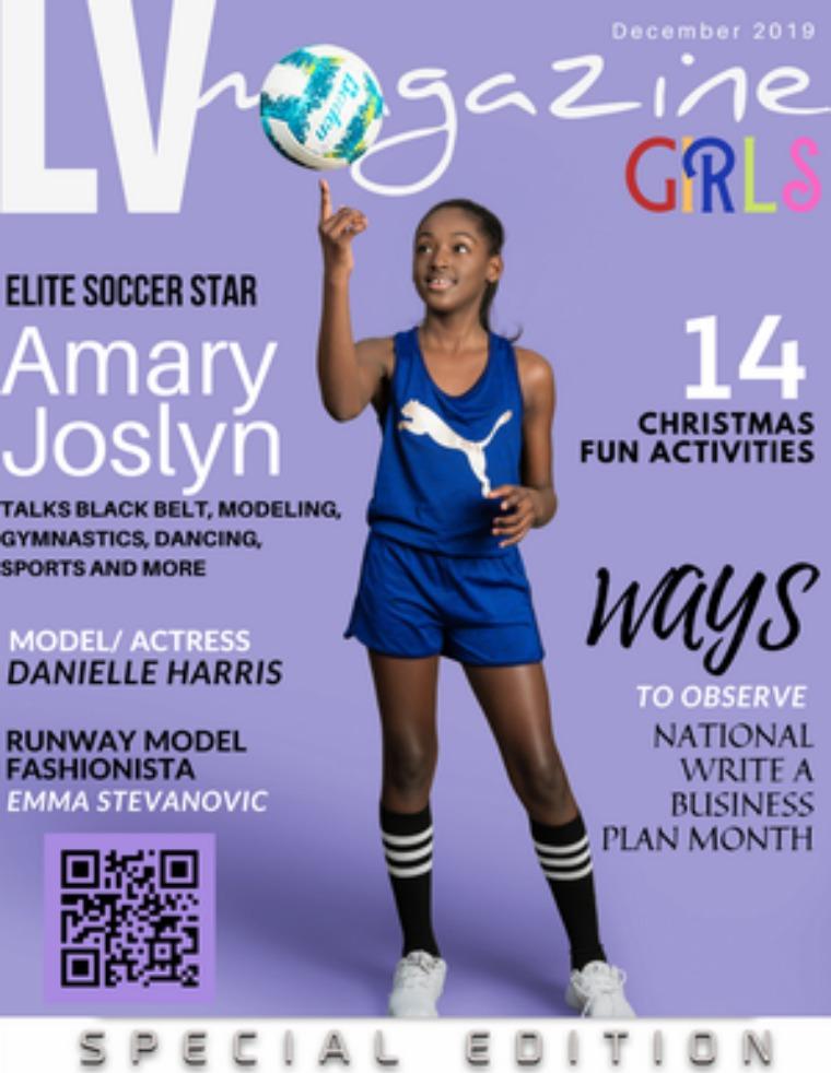December 2019 Cover Amary Joslyn