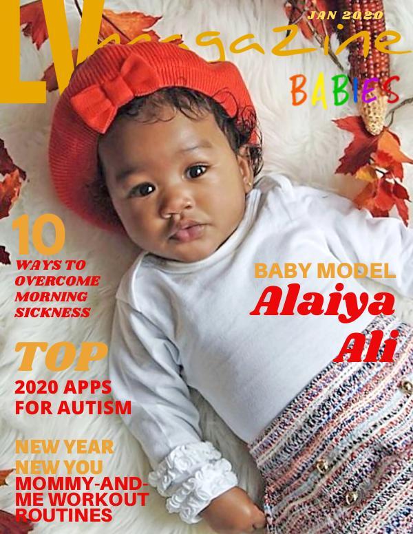 LV Magazine Kids Babies 2020 Alaiya Ali