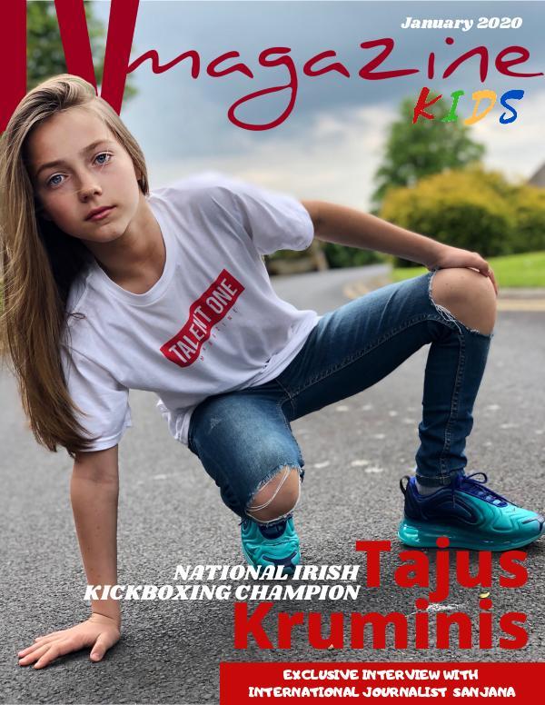 LV Magazine Kids January Cover Tajus Kruminis